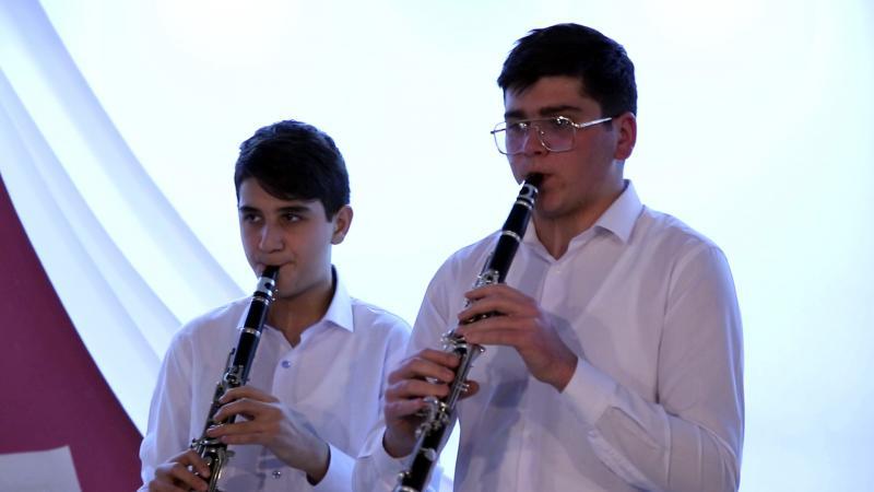 կլարնետի դասարան clarinet class
