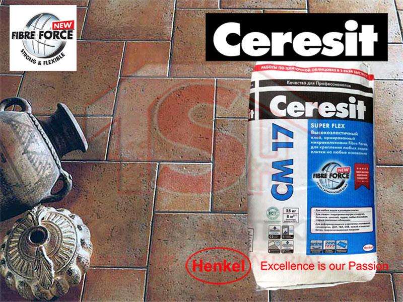 սալիկի գերէլաստիկ սոսինձ ներքին և արտաքին աշխատանքների համար cm сверх эластичный клей предназначен для крепления всех видов плиток cm premium flexible tile adhesive with high adhesive strength for all kind of tiles on difficult substrates cm