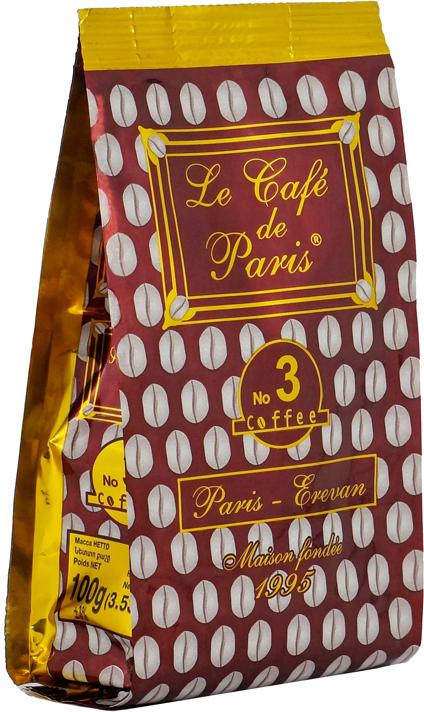փարիզյան սուրճ n արաբիկա մոկա ռոբուստա կամերուն գր парижский кофе n арабика мока робуста камерун г le cafe de paris n arabica moka robusta cameroun g