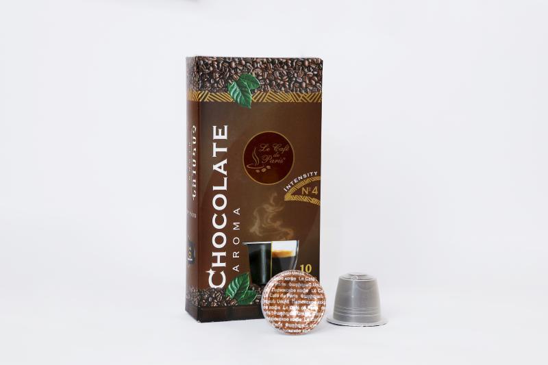 փարիզյան կապսուլային սուրճ շոկոլադի համով հատ парижский капсульный кофе со вкусом шоколада штук le café de paris capsule coffee with chocolate flavor pieces
