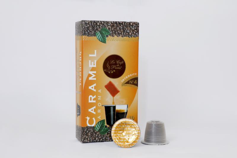 փարիզյան կապսուլային սուրճ կարամելի համով հատ парижский капсульный кофе со вкусом карамели штук le café de paris capsule coffee with caramel flavor pieces