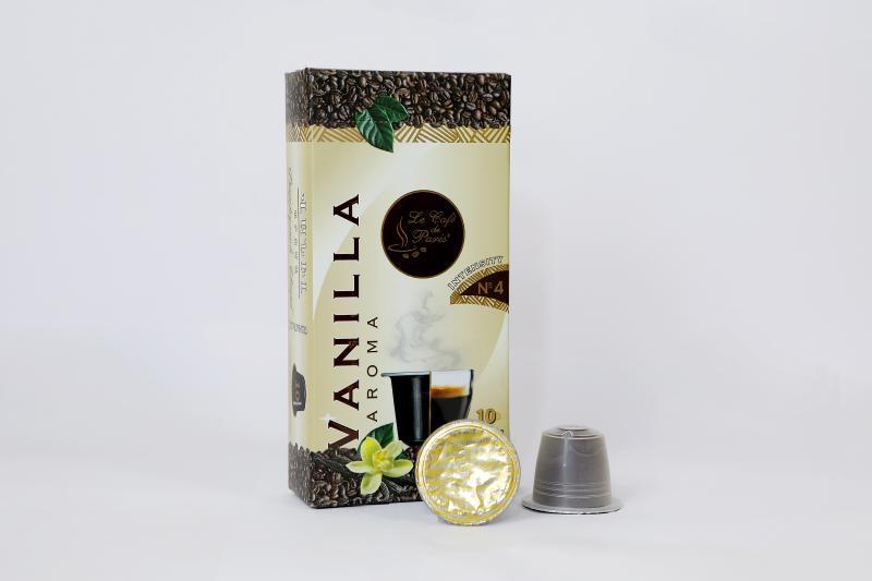 փարիզյան կապսուլային սուրճ վանիլի համով հատ парижский капсульный кофе со вкусом ванили штук le café de paris capsule coffee with vanilla flavor pieces