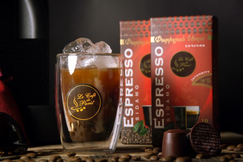 էսպրեսո փարիզյան կապսուլային սուրճ հատ эспрессо парижский капсульный кофе штук espresso le café de paris capsule coffee pieces