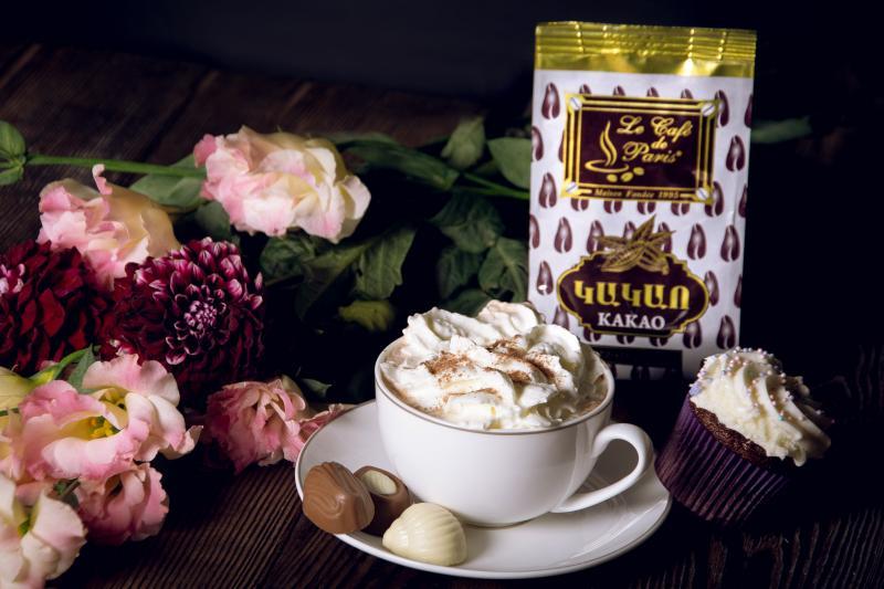 բնական կակաոի փոշի գր натуральный какао порпшок г natural cacao powder g