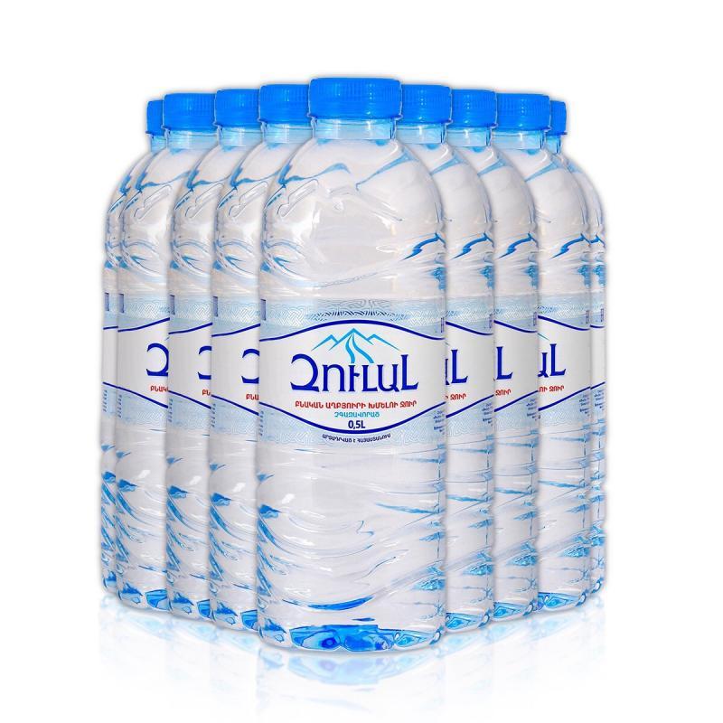 զուլալ բնական խմելու աղբյուրի ջուր լ природная родниковая вода зулал л natural spring water zulal l
