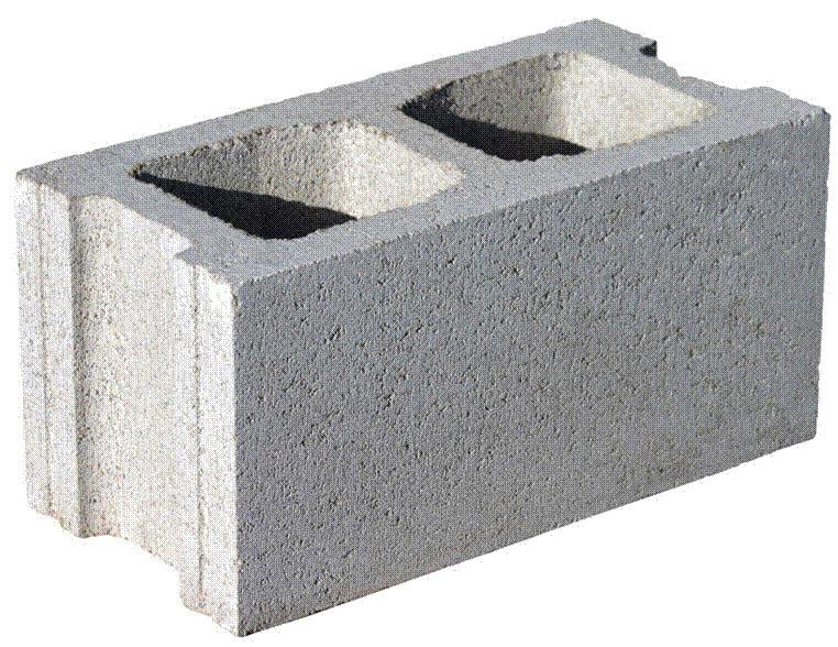 вес пескоблока 400х200х200