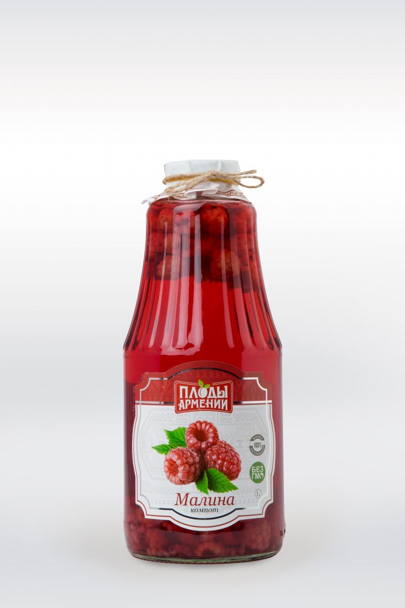 կոմպոտ ազնվամորու компот из малины raspberry compote