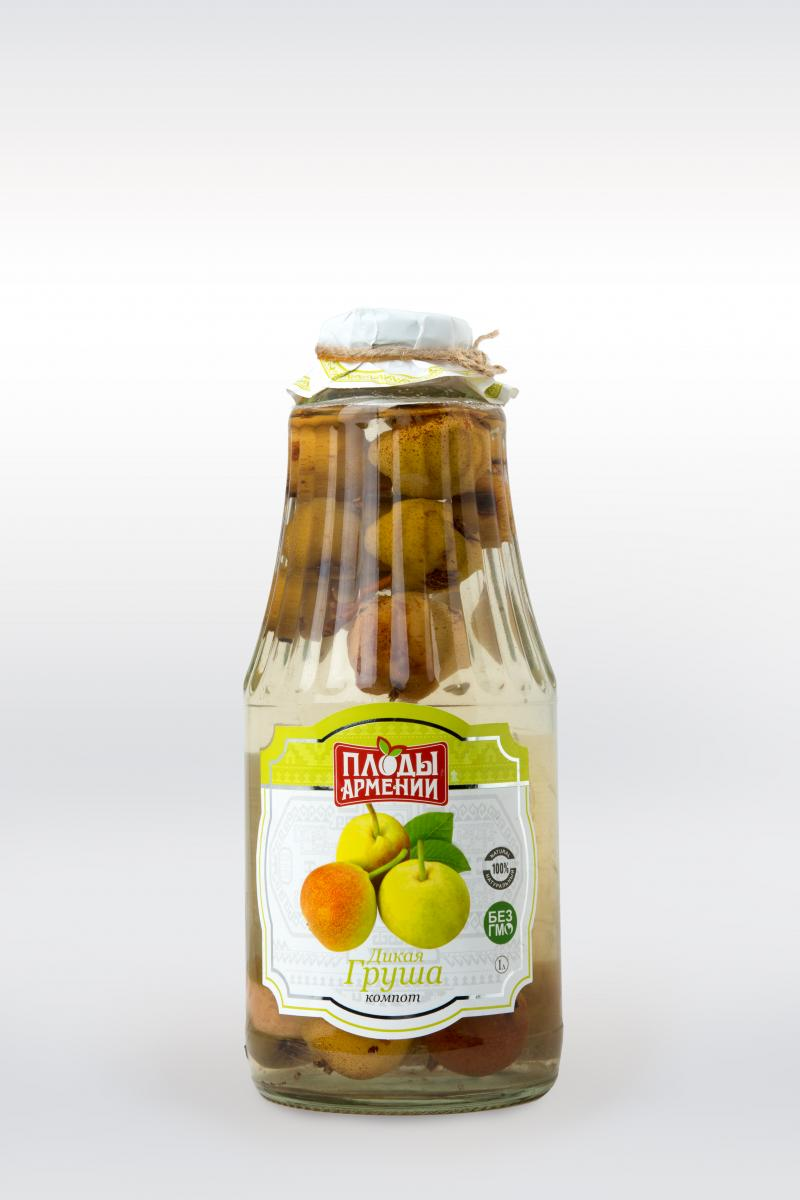 կոմպոտ վայրի տանձի компот из дикой груши wild pear compote