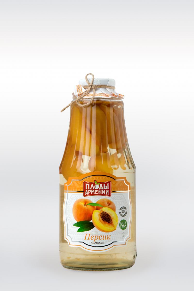 կոմպոտ դեղձի компот персиковый peach compote