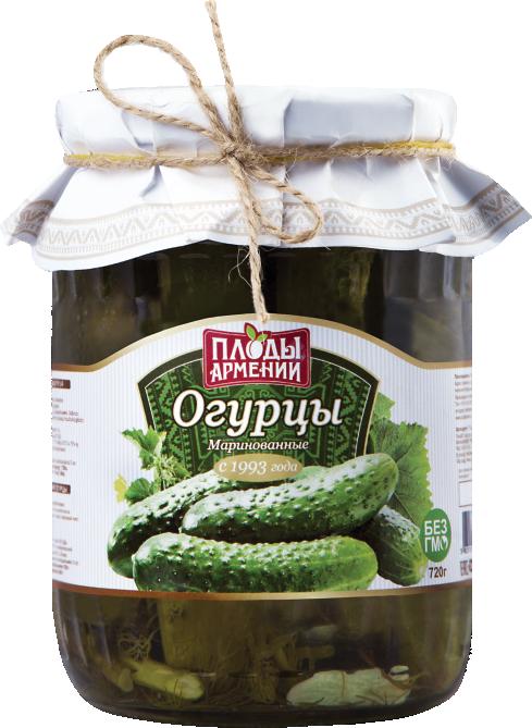 վարունգ մարինացված գ огурцы маринованные г cucumbers marinated g
