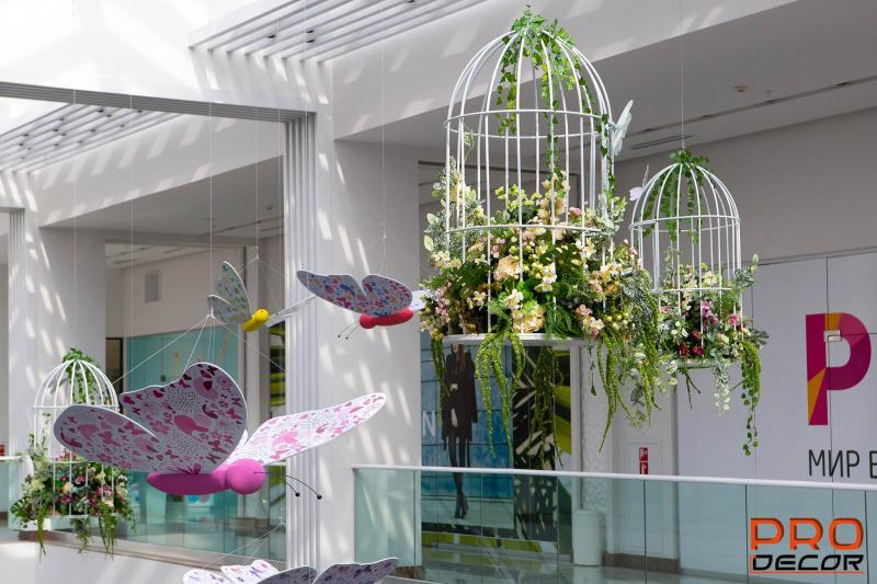 գարնանային դեկորացիա весенние декорации spring decoration