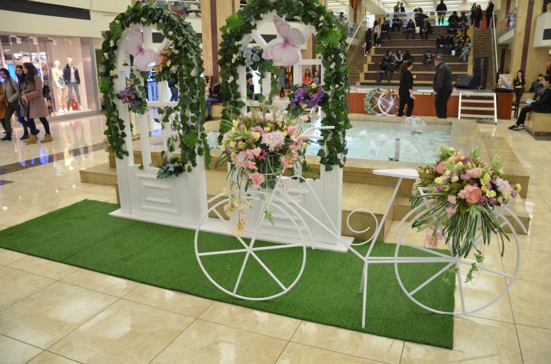 գարնանային թեմատիկ դեկորացիա весенние тематические декорации spring thematic decor