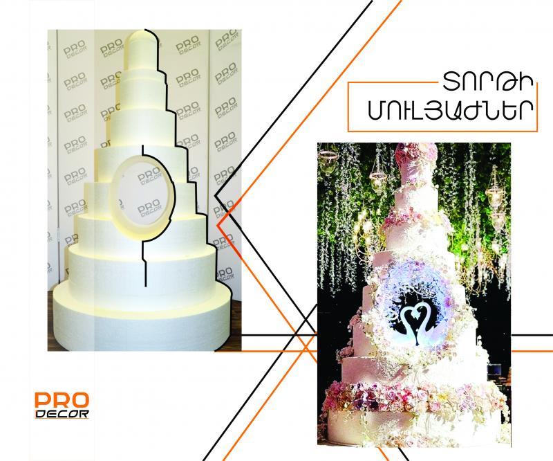 տորթի մուլյաժ mуляж торта cake moulage