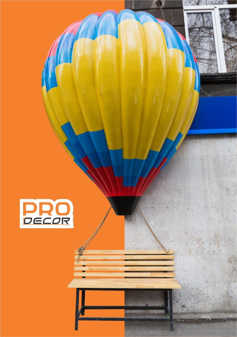 դեկորատիվ օդապարիկ декоративный воздушный шар decorative balloon