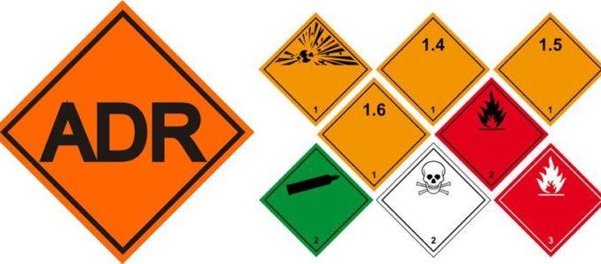 транспортировка грузов повышенного класса опасности adr