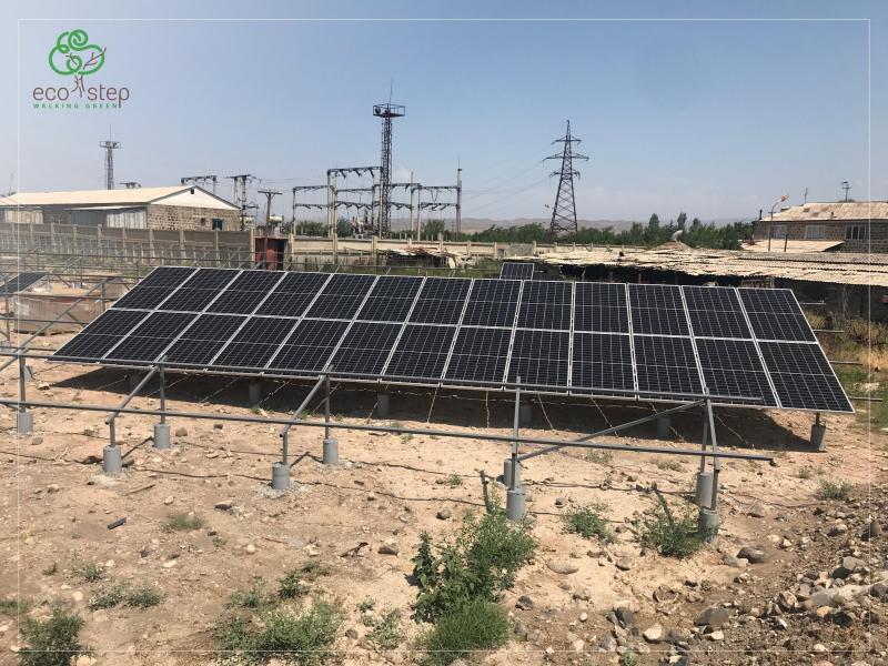արմավիրի գազալցակայանը կզրոյացնի հոսանքի ծախսերը solar energy for business eco step solar energy system armswiss bank kw arevayin jrataqacucich arevayin hosanq arevayin martkocner solar energy systems solutions photovoltaic pv