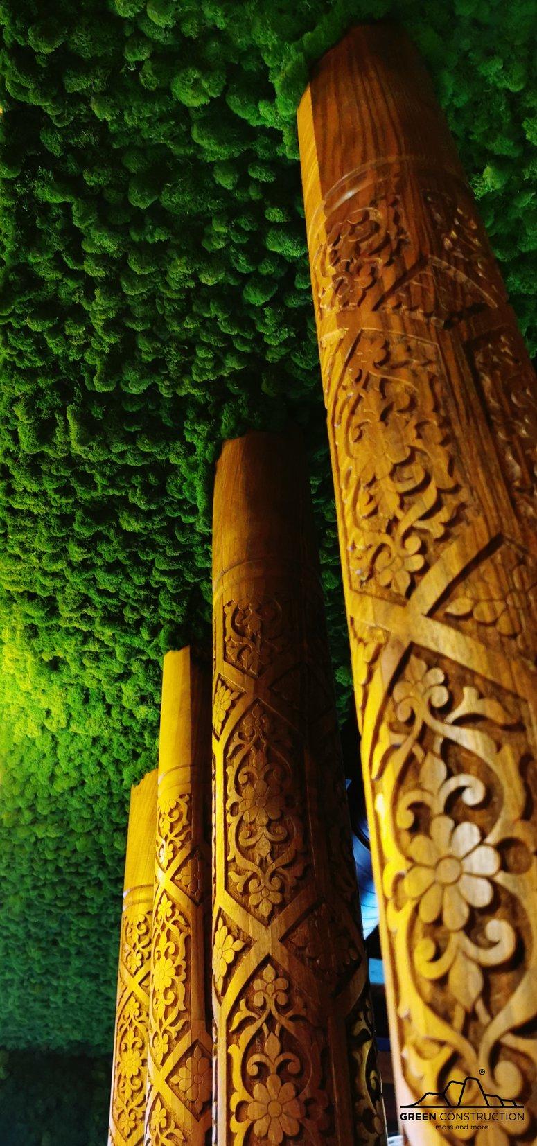 գրին քանսթրաքշն ինտերիերի դիզայն կանաչապատում